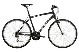 福岡バイクツアーの自転車クロスバイク
