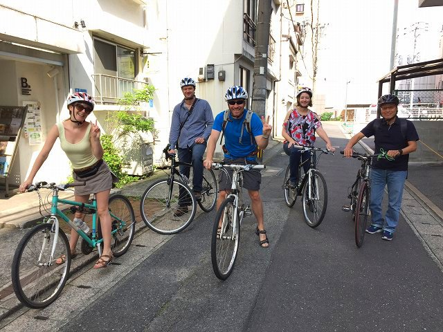 福岡バイクツアーページのスタート時の写真